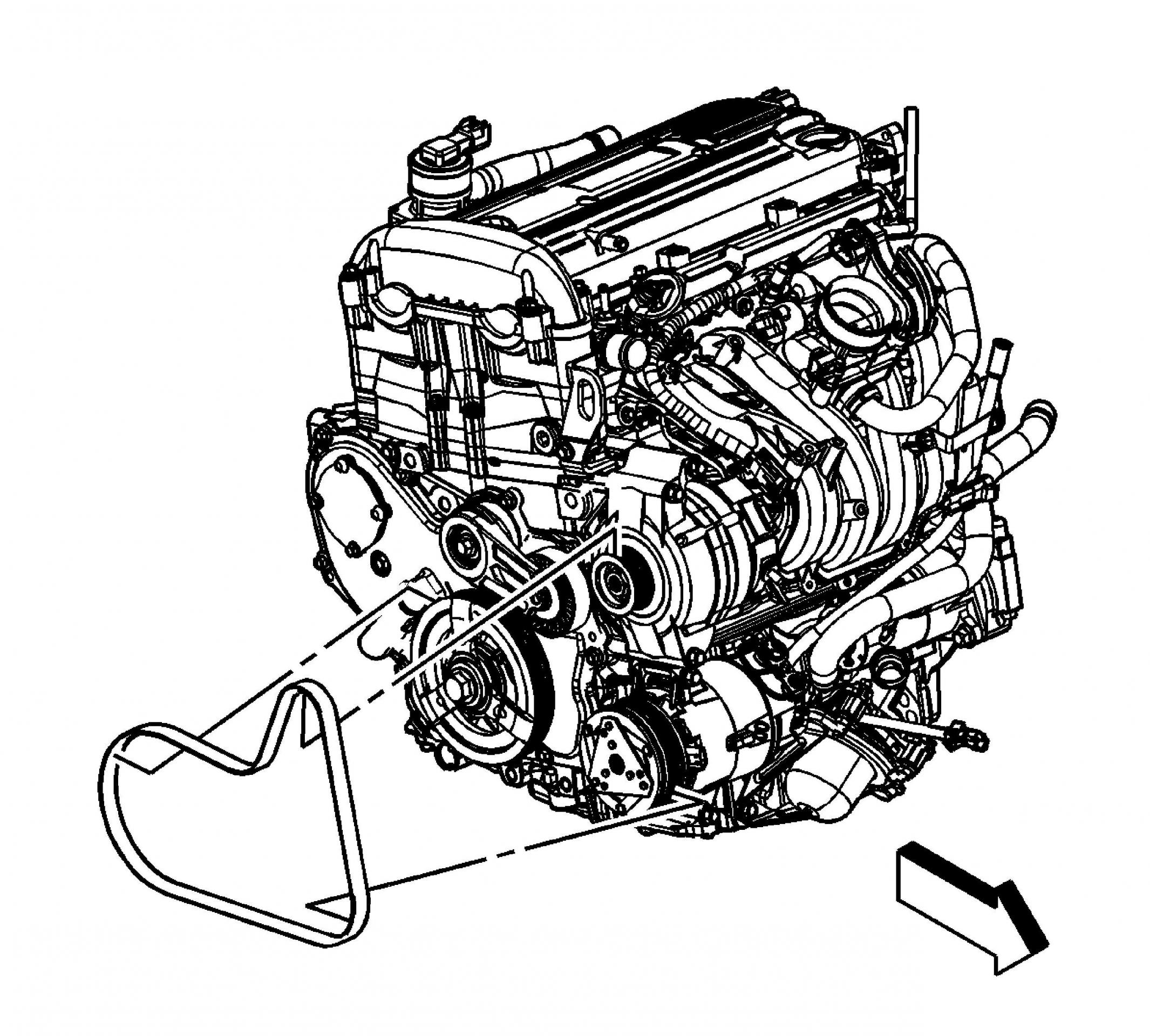 2006 chevy cobalt 2.2 engine diagram