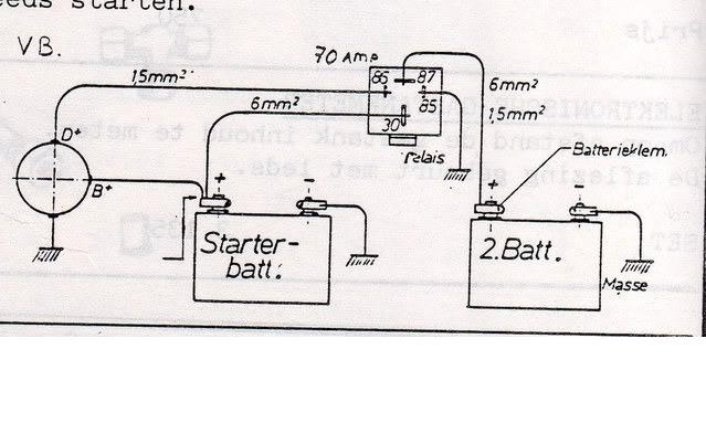 vauxhall alternator wiring diagram