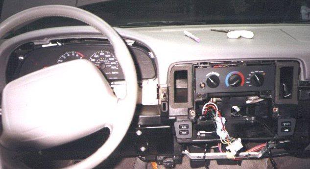 2006 chevy impala column shifter to console shifter conversion
