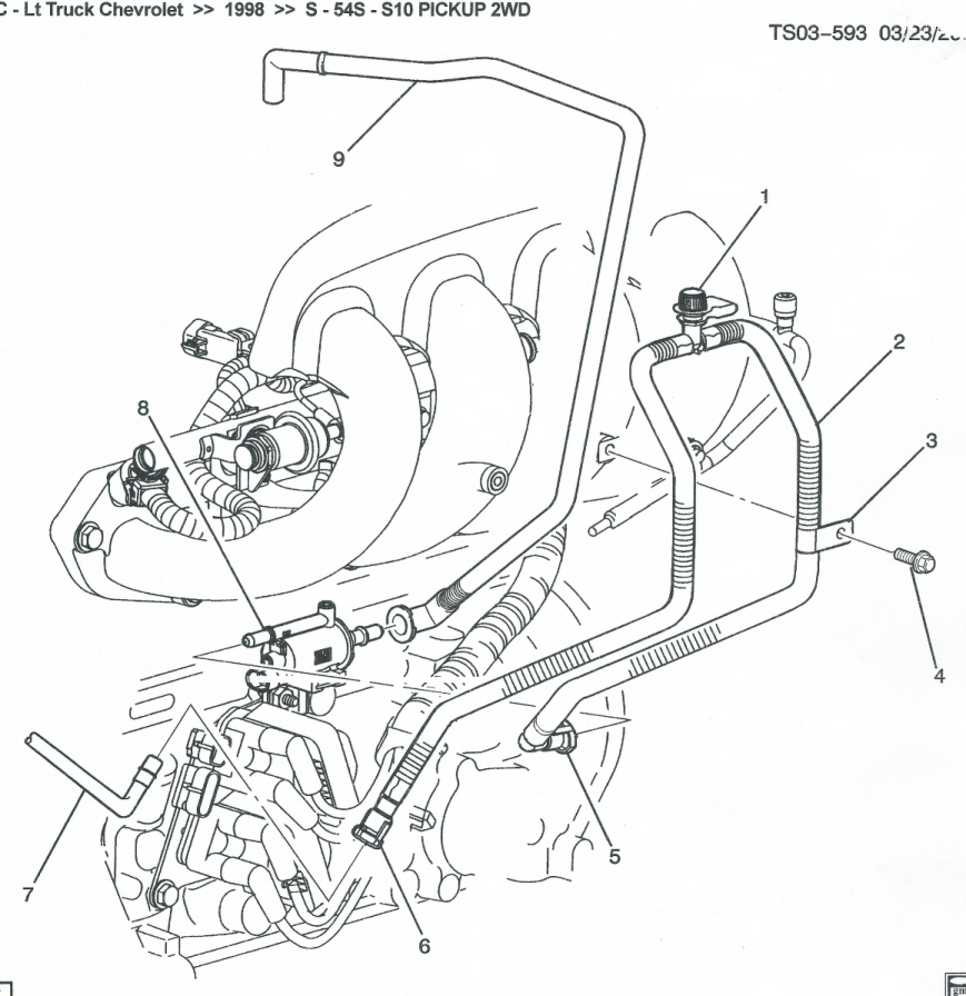 98 CHEVY S10 2 2L AC SENSOR WIRING DIAGRAM - Auto Electrical Wiring