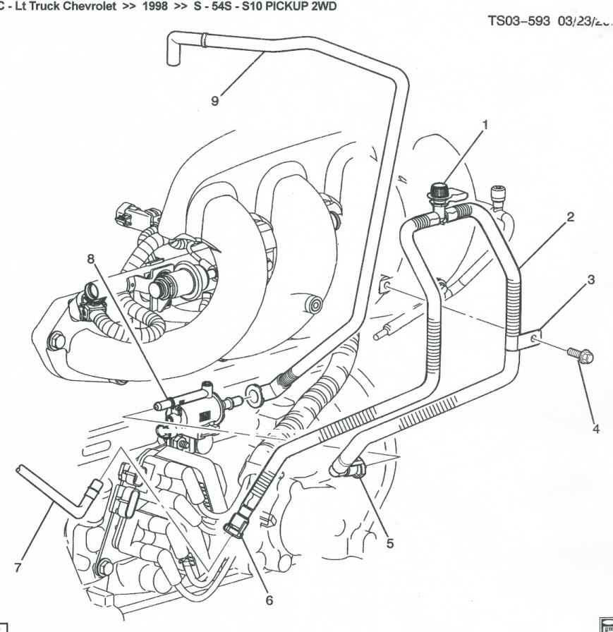 98 isuzu evap diagram