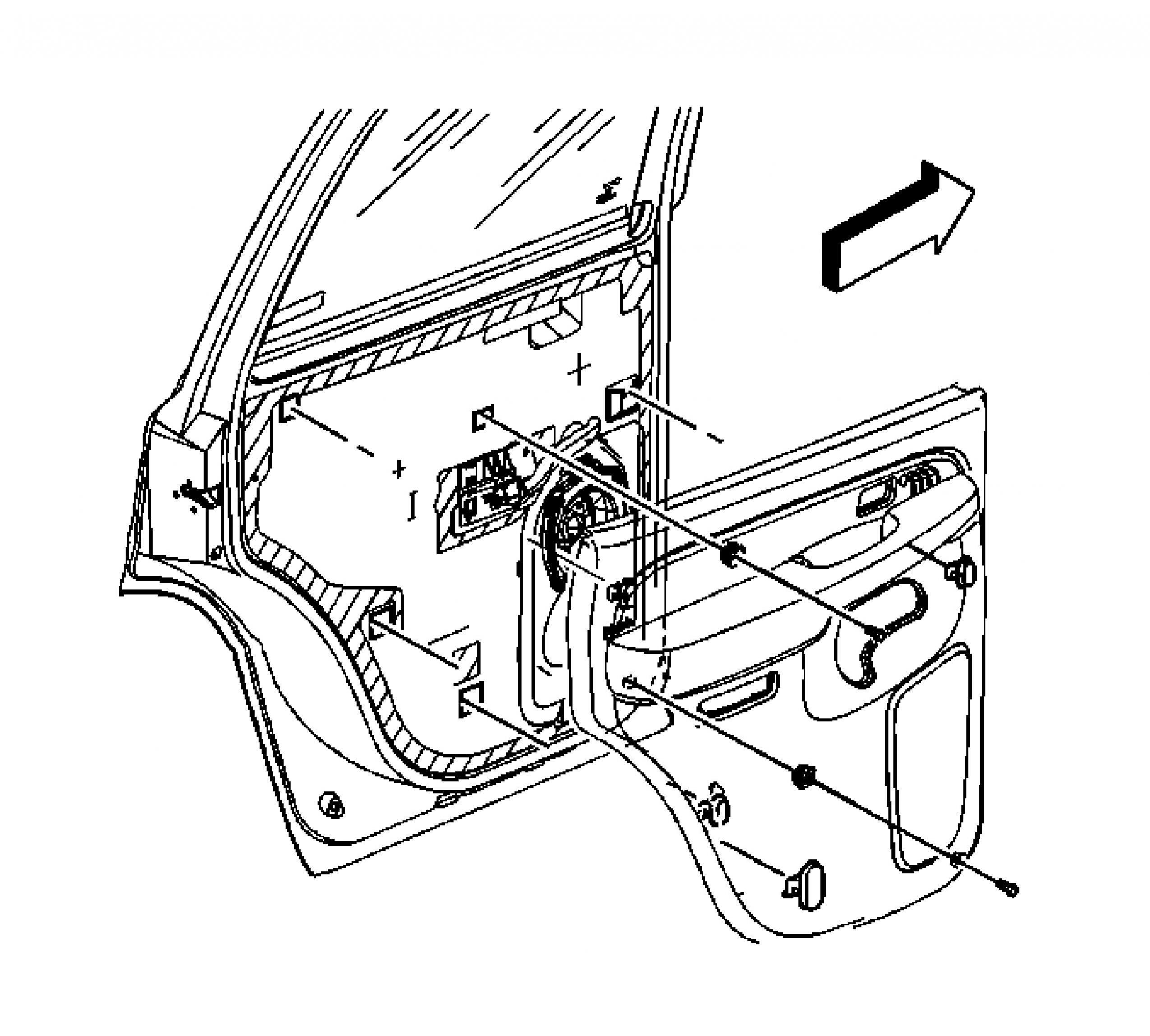 2001 suburban door ledningsdiagram