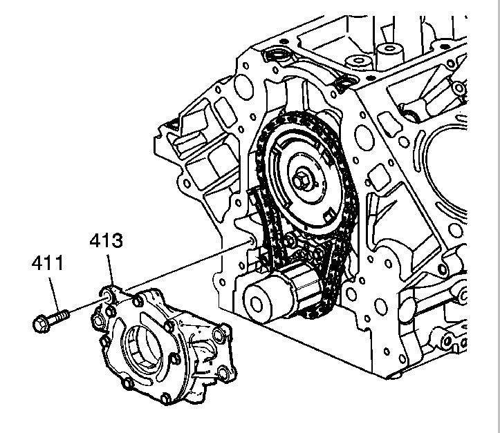 gm ls oil pump