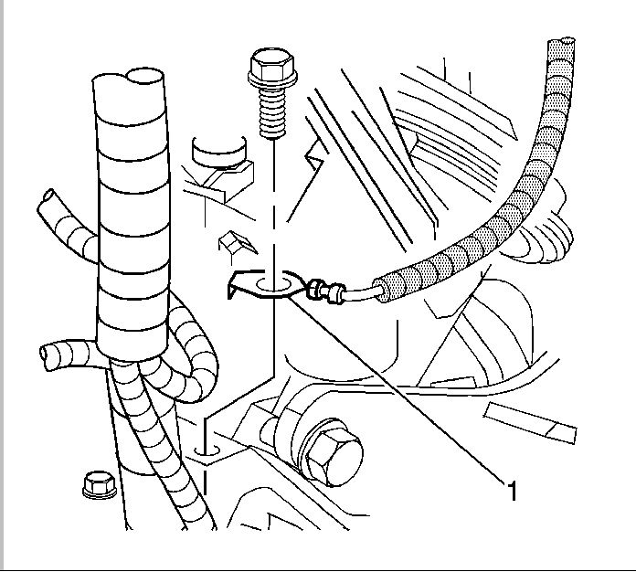engine wiring harness wire terminal