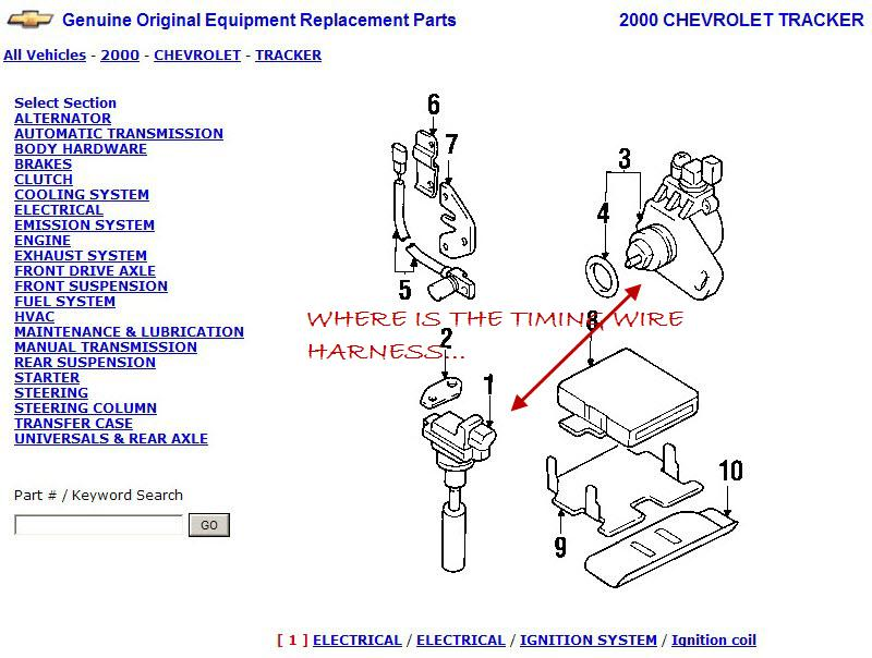 Geo Tracker Coil Wiring Diagram - Wiring Diagrams Schema