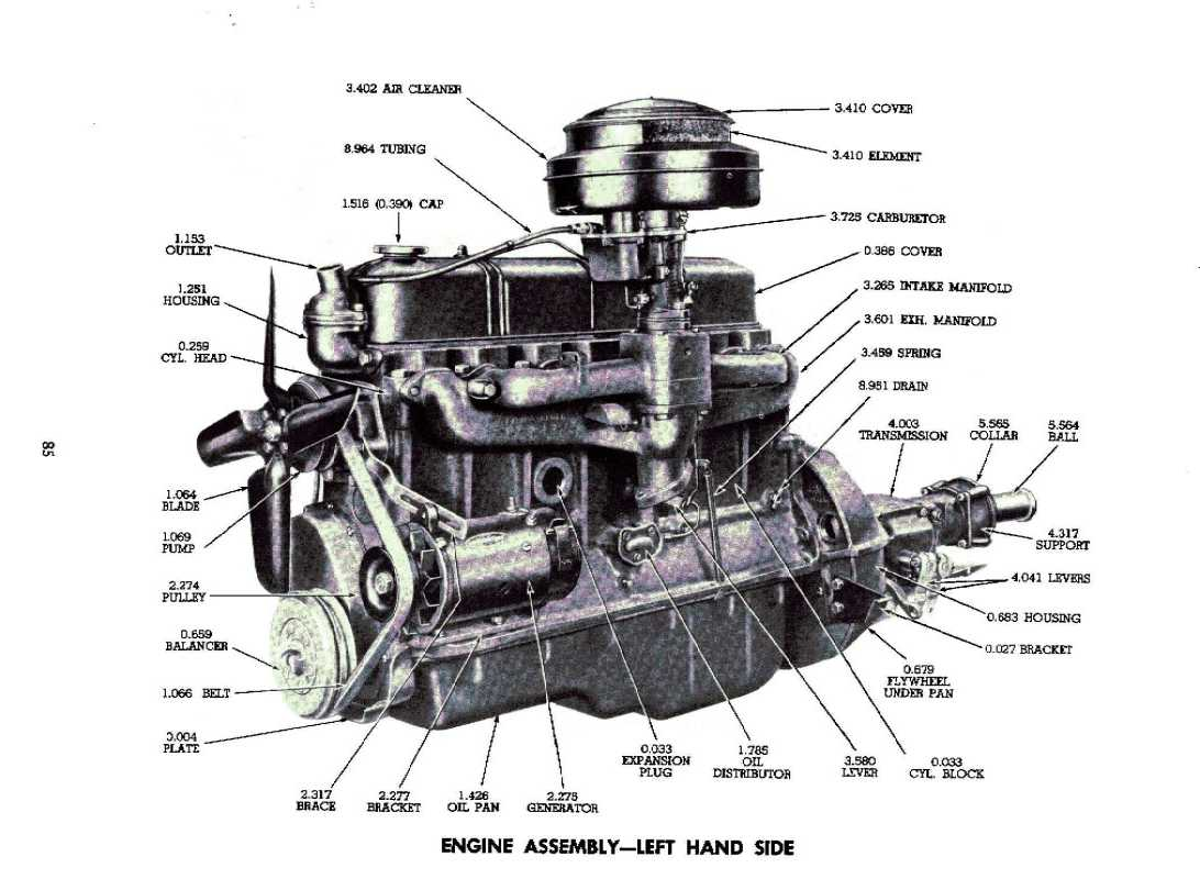 235 chevy engine diagram car pictures