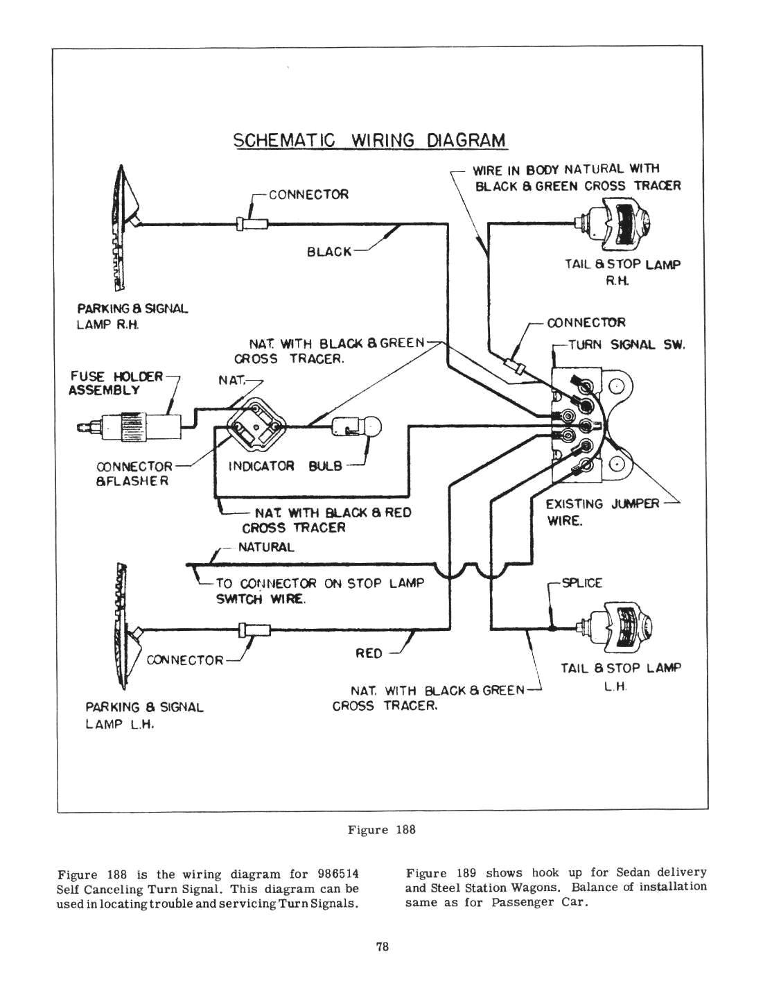turn signal wiring diagram 1950 merc