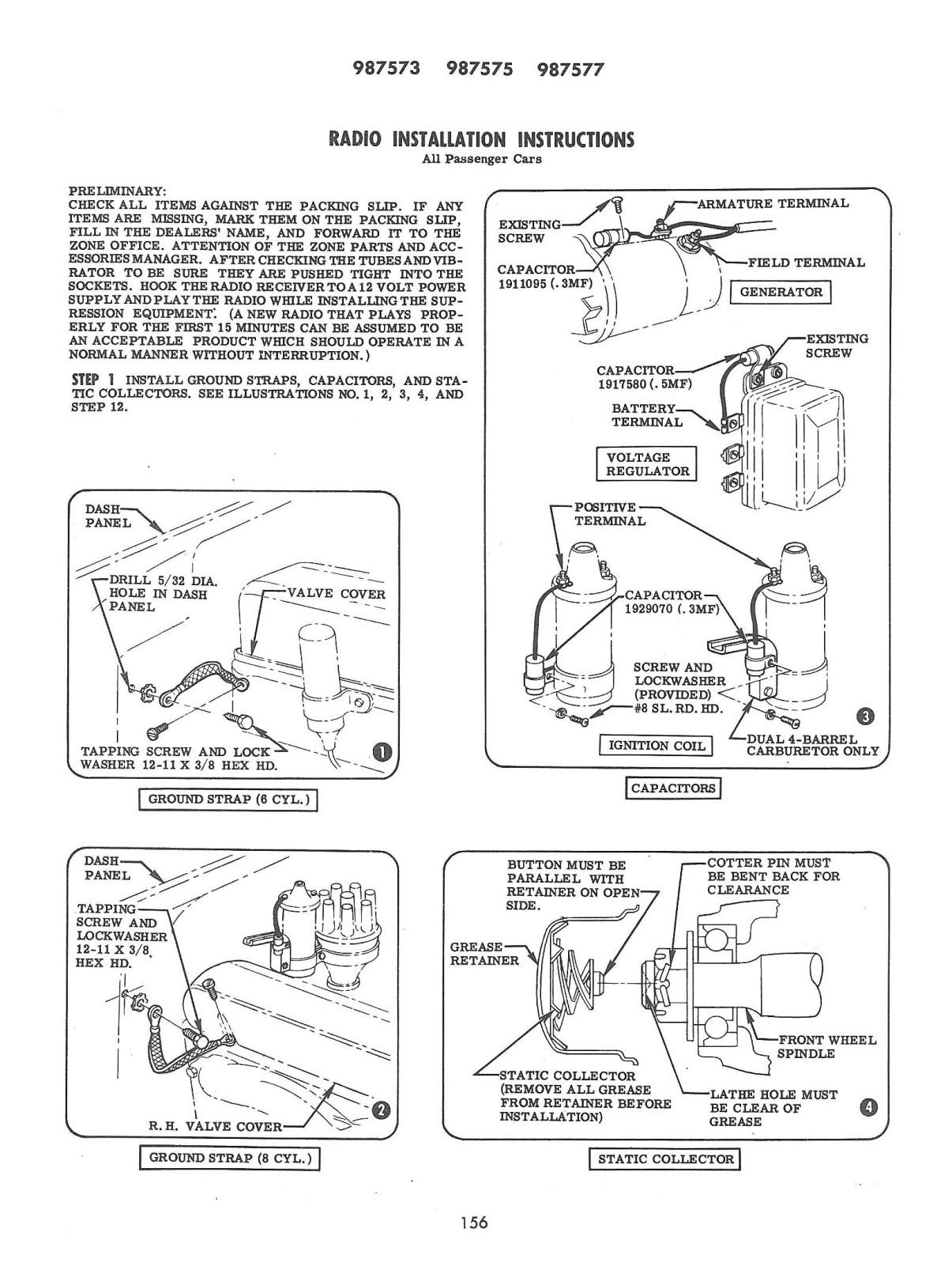 55 Chevy Dash Wiring Diagram Ground Straps Location Trifive Com 1955 Chevy 1956