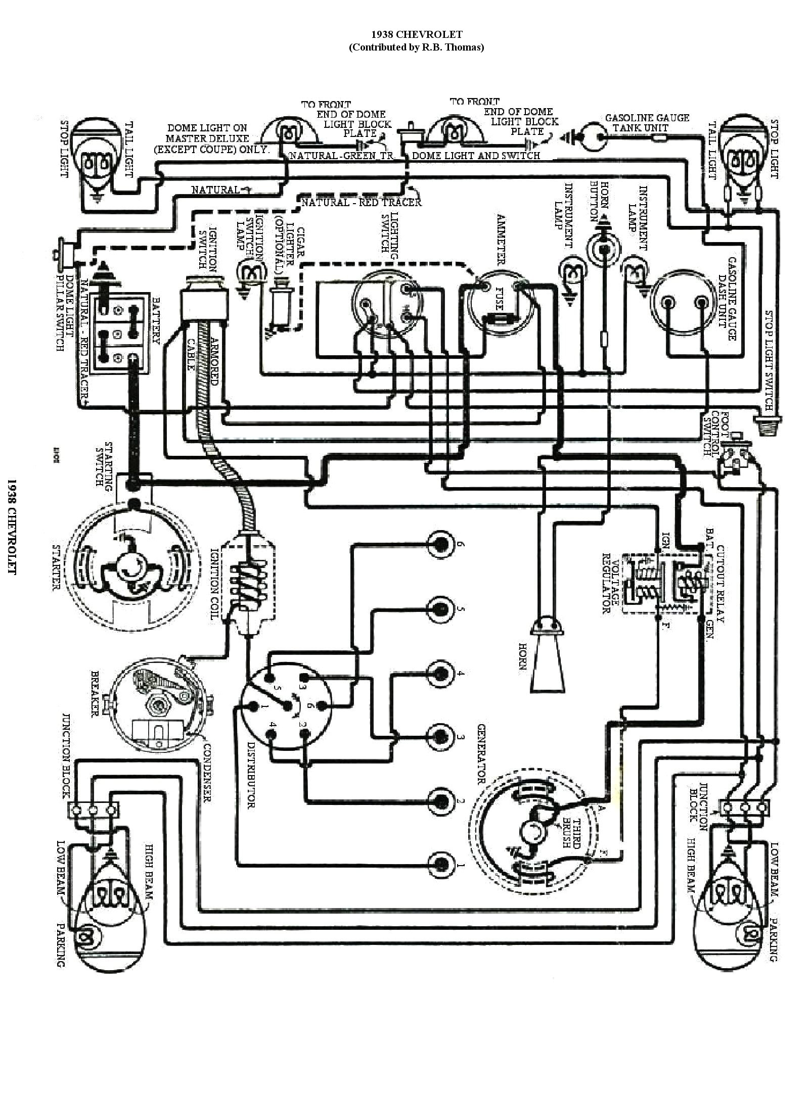 1938 chevy wire diagram