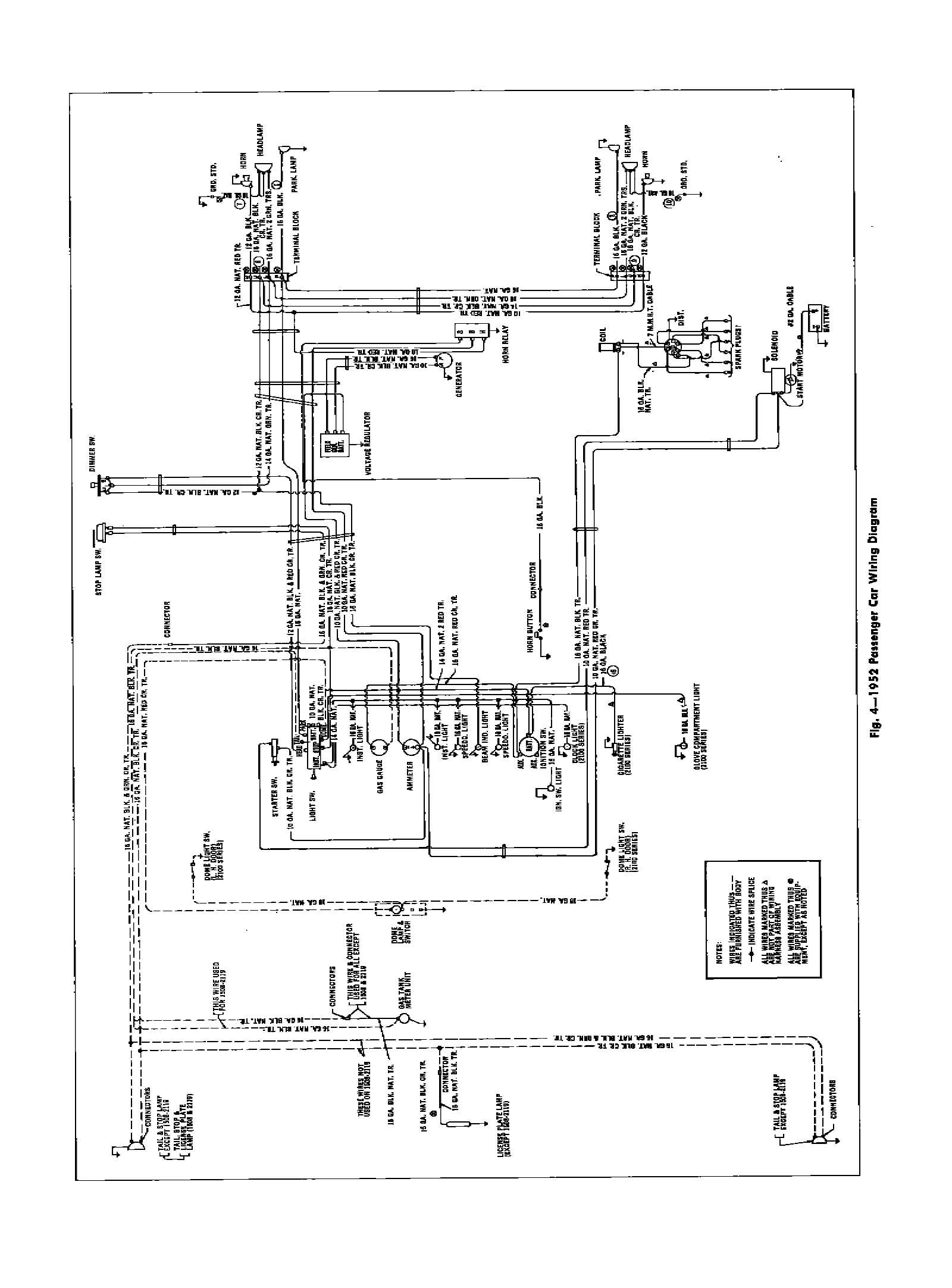 1952 Chevy Wiring Diagram