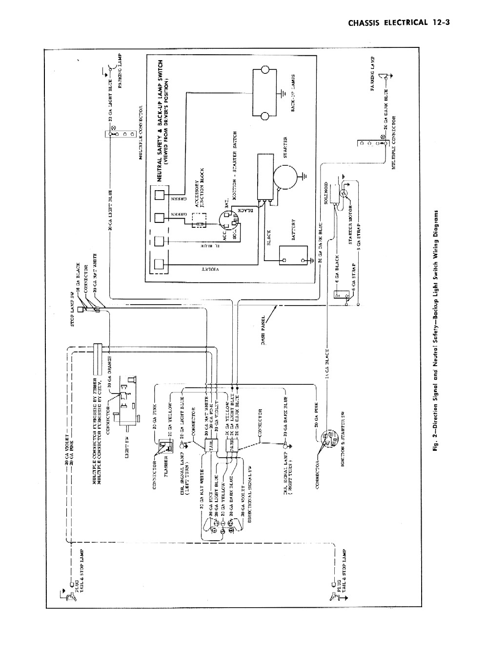 wiring diagram 1956 chevrolet nomad