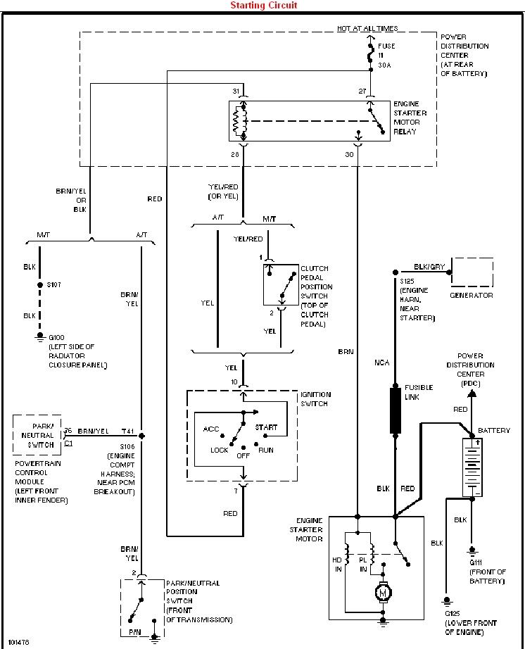 Goldwing Starter Wiring Diagram dodge ram starter wiring wiring