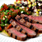 Grilled Steak with Chimichurri Sauce – Red Gold Summer Grilling Giveaway