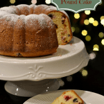 Sour Cream Cranberry-Almond Pound Cake: Mix Up the Holiday with OXO On
