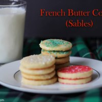 French Butter Cookies (Sables)