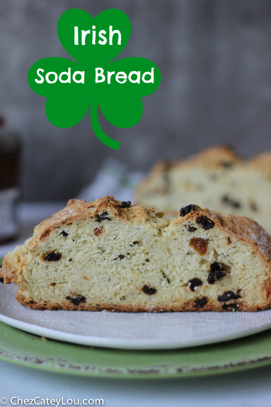 Irish Soda Bread | chezcateylou.com