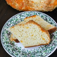 Cheesy Irish Soda Bread