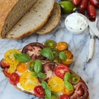 Ricotta Tomato Toast