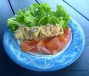 assiette de truite