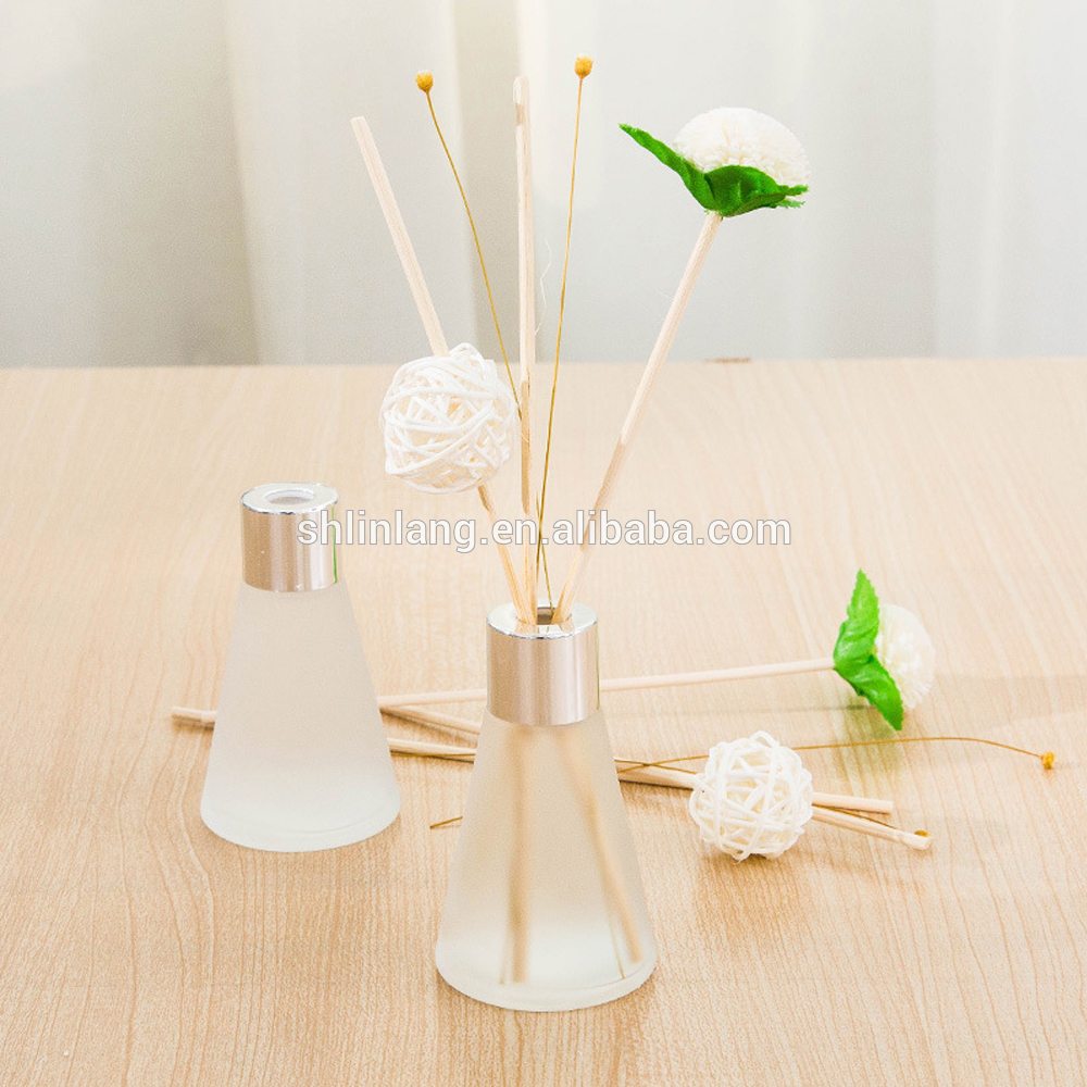 Glass Factory Manufacturer China Shanghai Linlang China Factory Round Frosted Reed
