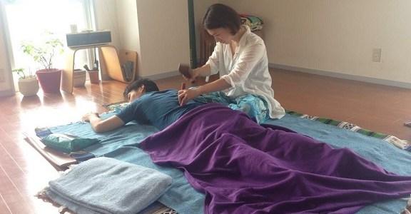 4/11 千紗's Activated-Chi-Therapy「春は肝臓・胆のうのケアからスタート」