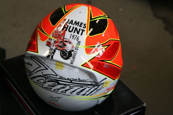 Raikkonen casco James Hunt