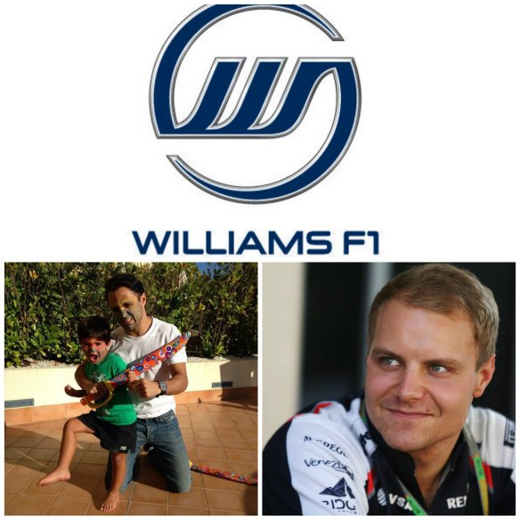 Line-up WIlliams 2014: Felipe Massa, Vallteri Bottas