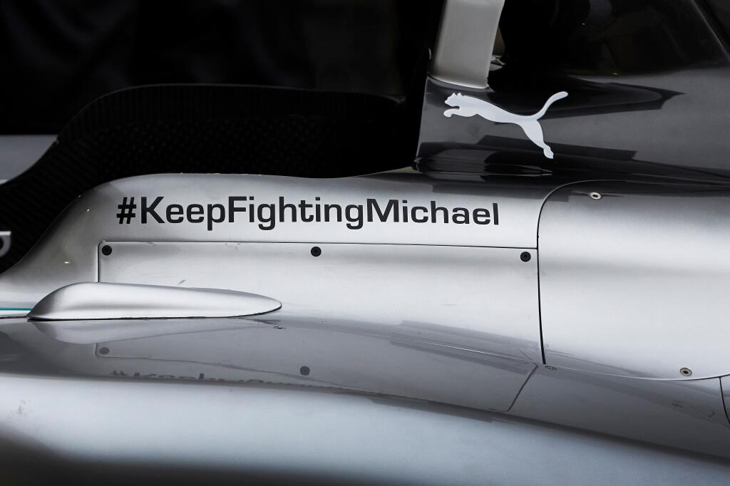MERCEDES KEEP FIGHTING MICHAEL