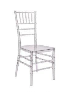 """Clear Resin """"Pro-Clear"""" Chiavari Chair - The Chiavari ..."""