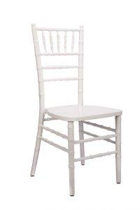 """White Wood Stacking """"ANSI BIFMA Standard"""" Chiavari Chair ..."""