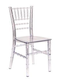 Clear Resin Children's Chiavari Chair - The Chiavari Chair ...