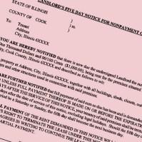 Methods of Service of Illinois Eviction Notice Termination