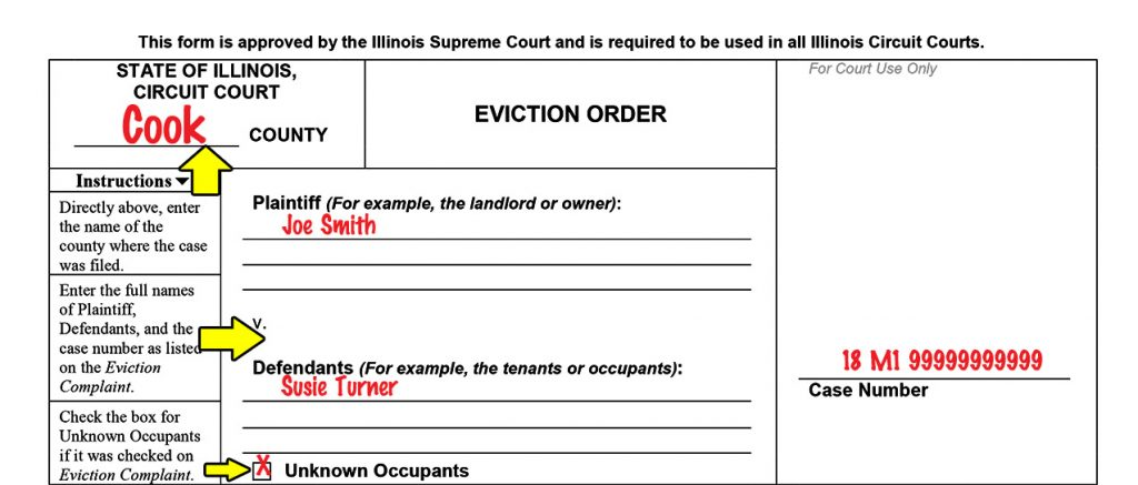 Breaking down the new State of Illinois Eviction Order Eviction