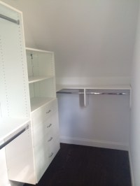 Small Walk In Closet Ideas For a Sloped Ceiling ...
