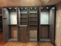 Custom Closet with Inside Lighting in Wood Dale, IL ...