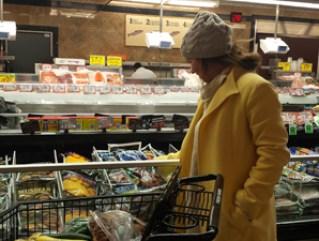 Magda Skumorska a new Wheeling resident, buys Polish groceries at Fresh Farms International Market.