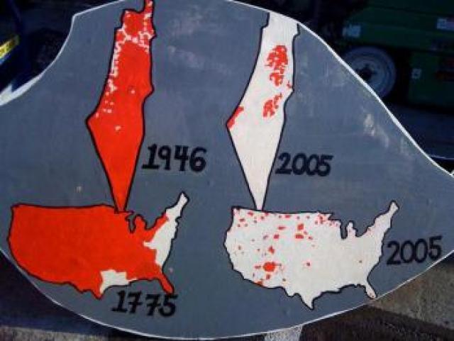 Palestine as Native America