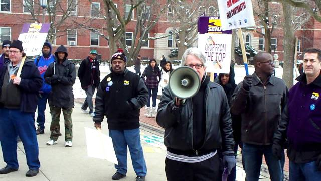 SEIU Local 73 Strike at University of Illinois Champaign-Urbana