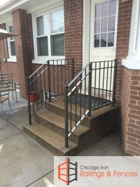 Chicago Wrought Iron Railings Handrails Contractor ...