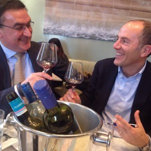 Alberto and Antonio bring Chicago the news about Sicilia DOC