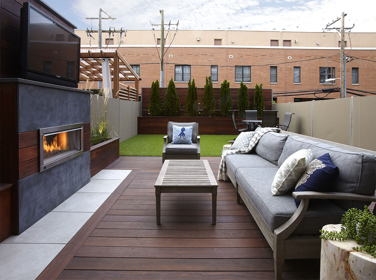 Deck Cost How Much Does A Roof Deck Cost Chicago Roof Deck 43 Garden