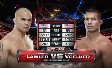 Robbie Lawler vs. Bobby Voelker