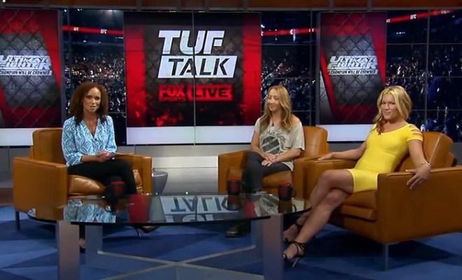 Felice Herrig and Heather Clark on TUF Talk