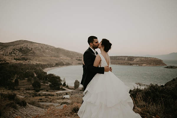 Beautiful elegant wedding in Nafplio Elena Thanos - Chic