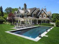 maison de riche, maison millionnaire, piscine creuse,