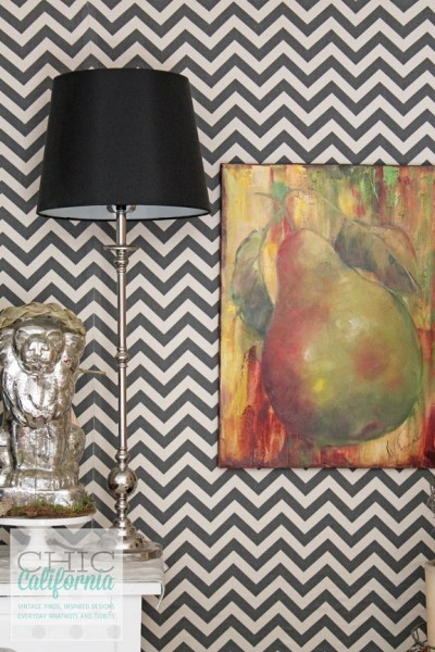 Starch + Fabric = (Removable) Faux Wallpaper! - Fun Cheap or Free