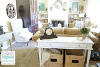 Vintage Style Living Room Tour - Chic California