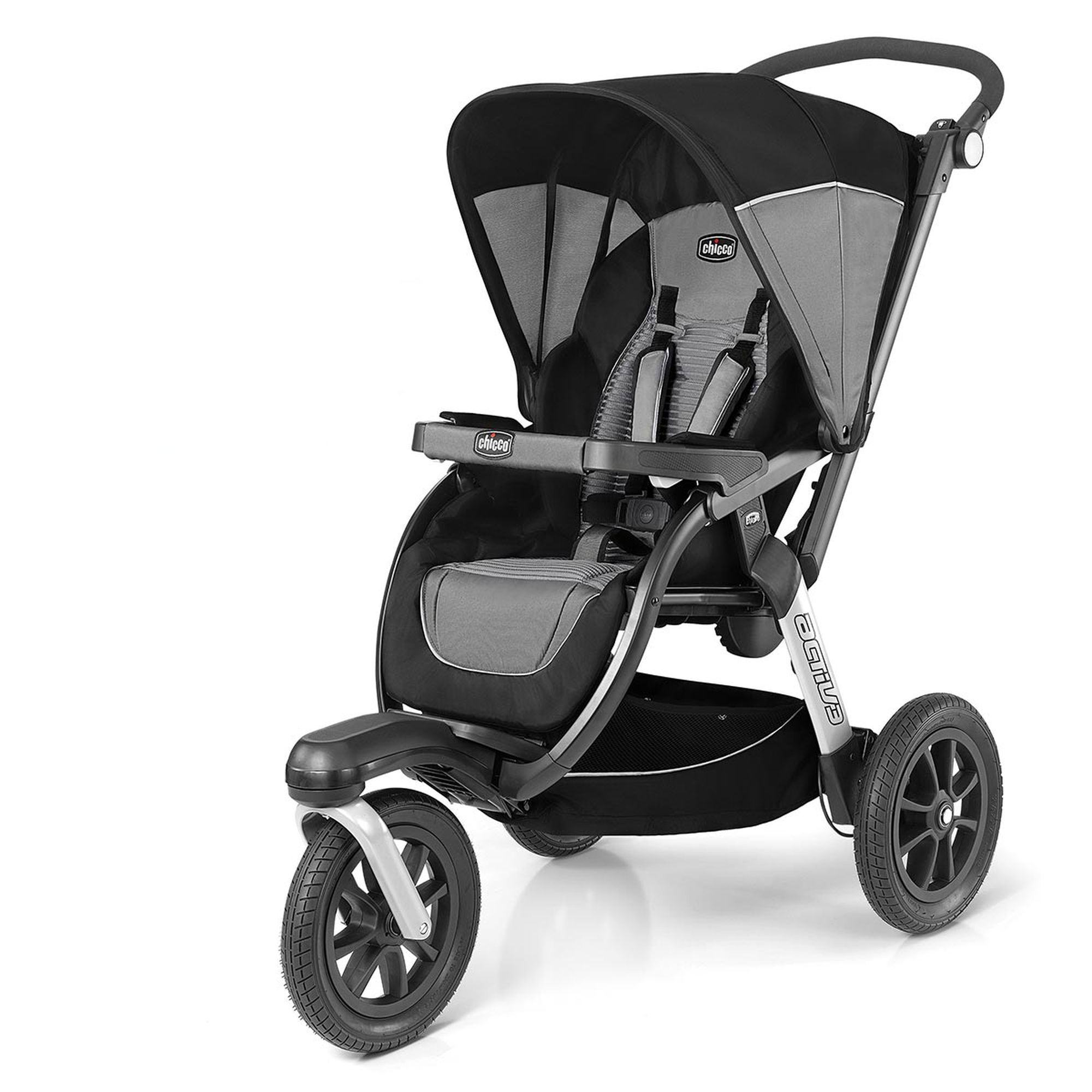 Jogging Stroller How To Use Chicco Activ3 Air Jogging Stroller Q Collection