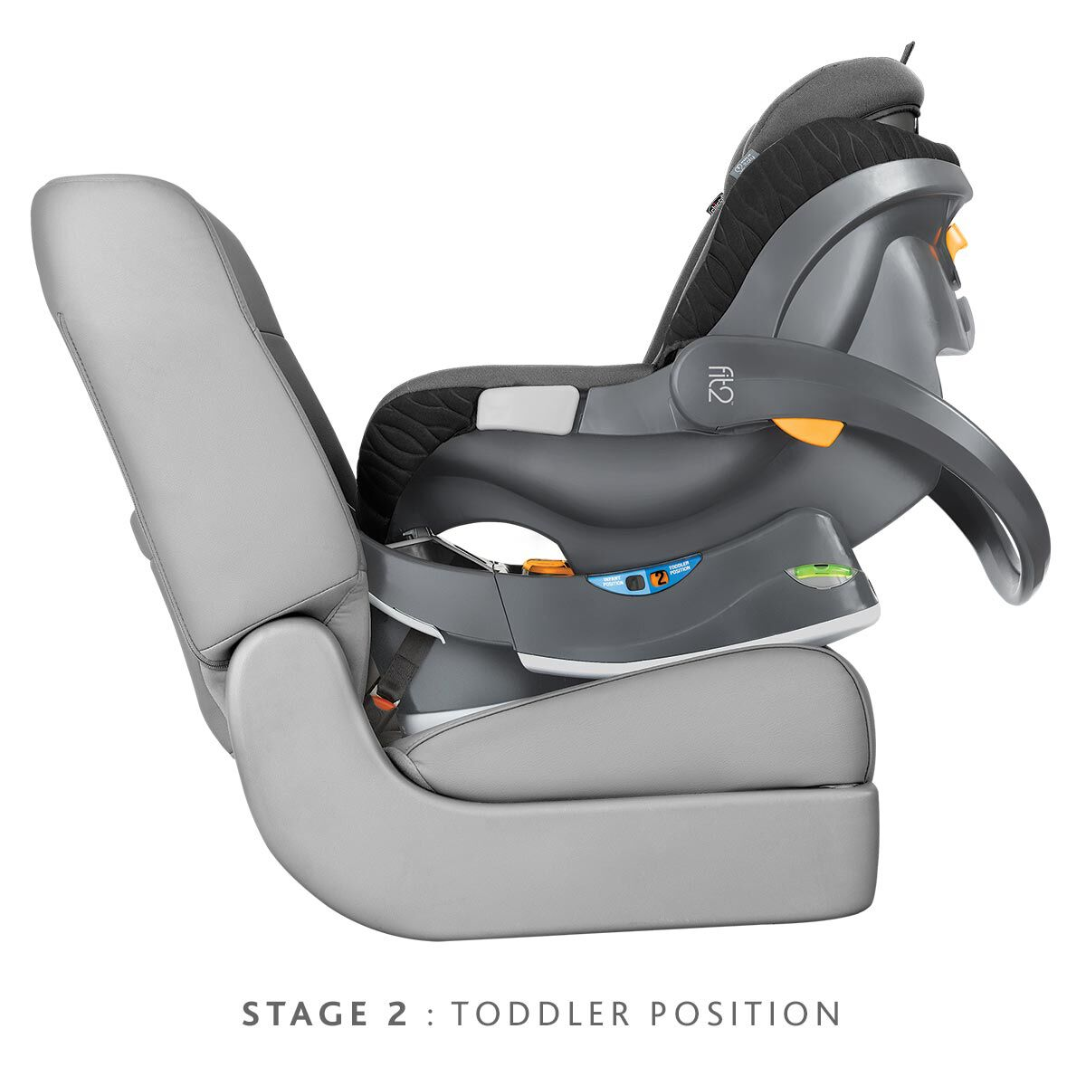 Stage 2 Car Seat With Base Chicco Fit2 Infant Toddler Car Seat Base