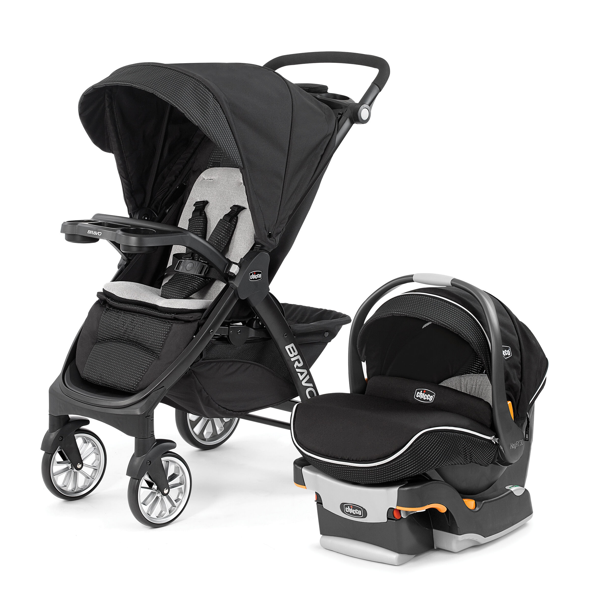 Travel System With Convertible Car Seat Bravo Le Trio Travel System Genesis Chicco